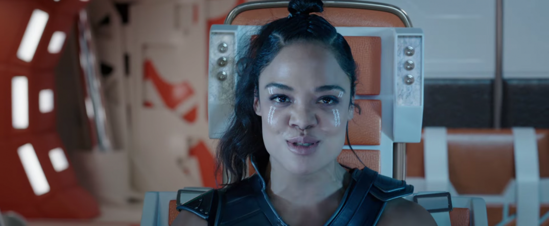 Thor Ragnarok Movie Trailer Screencaps Stills Screenshots Screengrabs Tessa Thompson Valkyrie