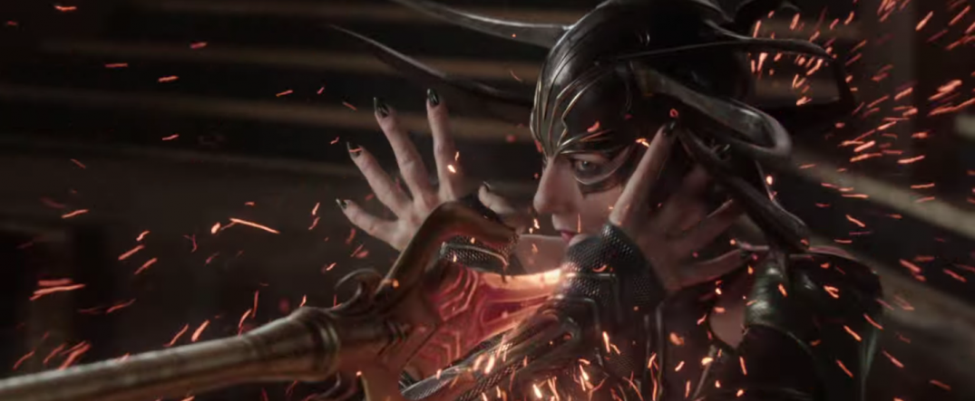 Thor Ragnarok Movie Trailer Screencaps Stills Screenshots Screengrabs Cate Blanchett Hela