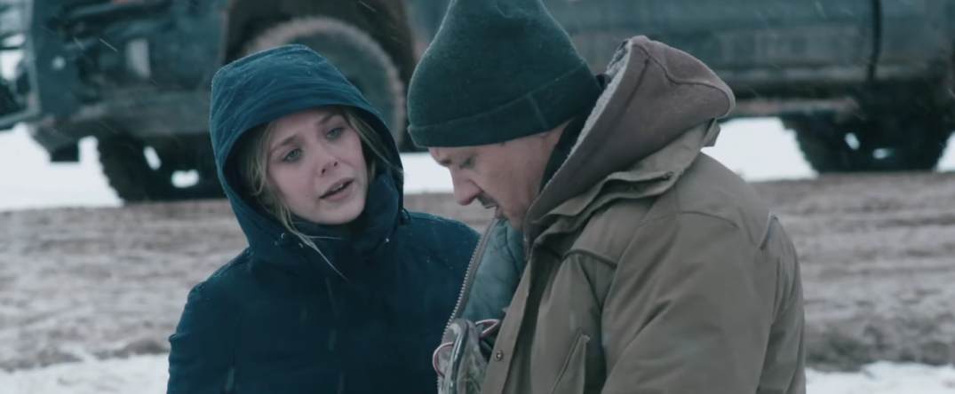 Wind River Movie Trailer Taylor Sheridan Image Stills Pics Photos Elizabeth Olsen Jeremy Renner