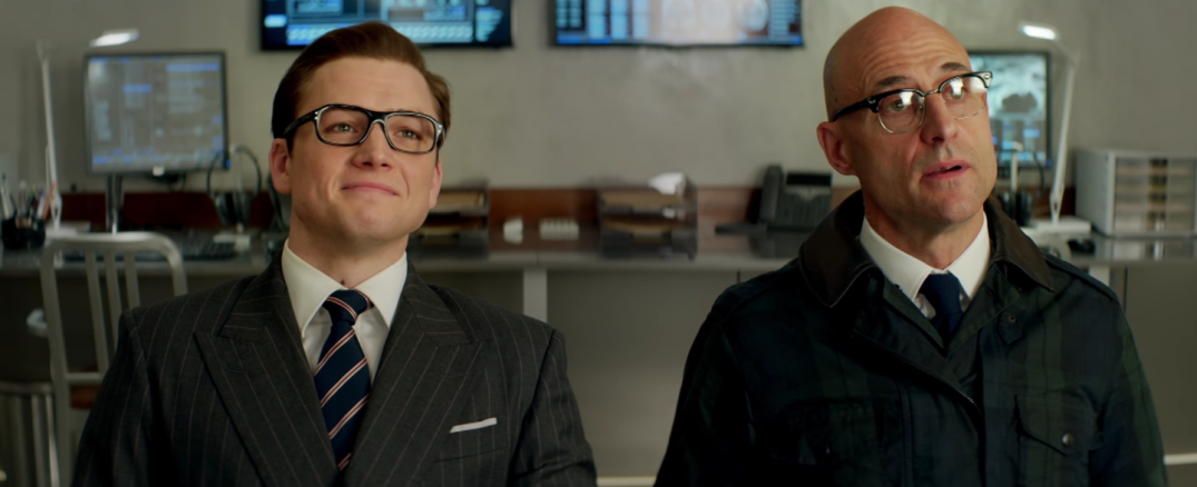Kingsman the Golden Circle Movie Images Stills Screencaps 2017 Taron Edgerton Mark Strong