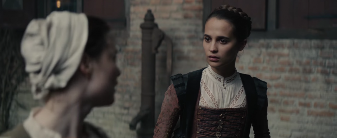 Tulip Fever Movie Trailer Images Screencaps Screenshots Alicia Vikander