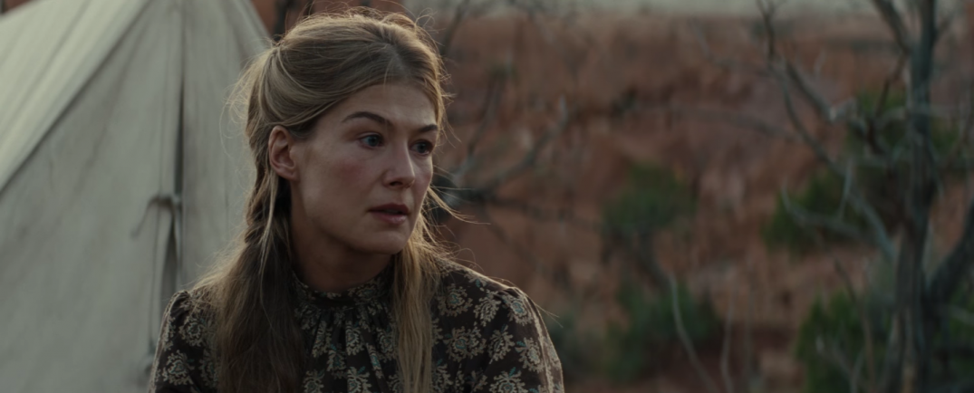 Hostiles Western Movie Images Stills Screencaps Trailer Rosamund Pike