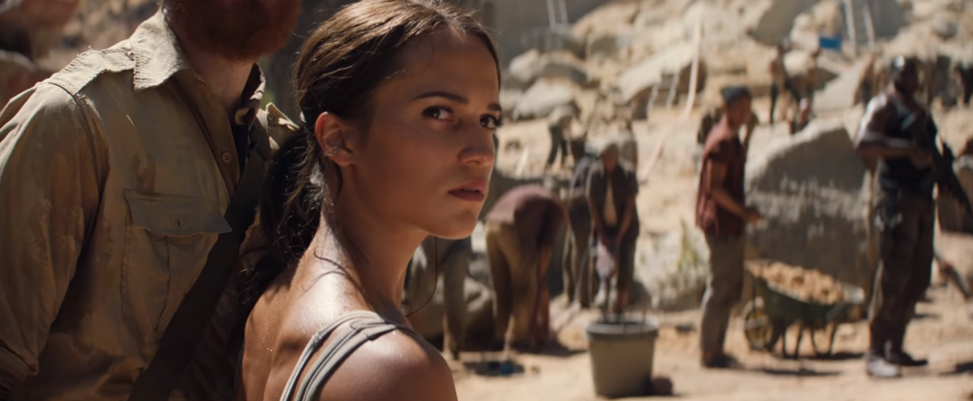 Tomb Raider 2018 Lara Croft Reboot Movie Film Images Stills Screencaps Alicia Vikander