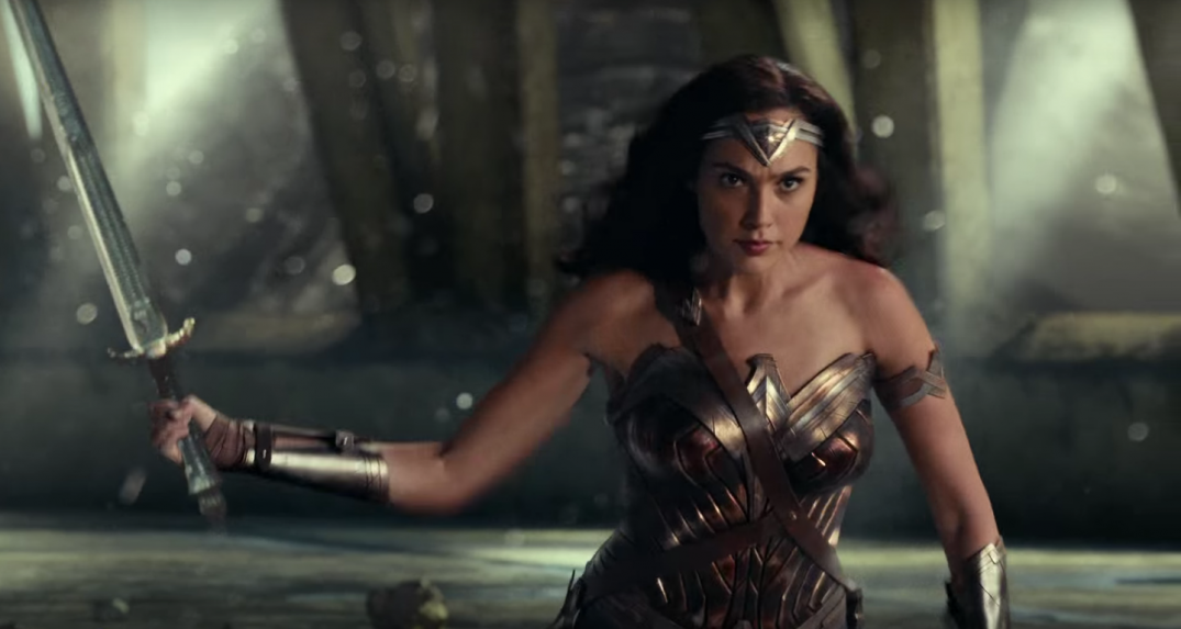 Justice League Movie Trailer Images Pics Stills Screencaps Screenshots Gal Gadot Wonder Woman Diana Prince