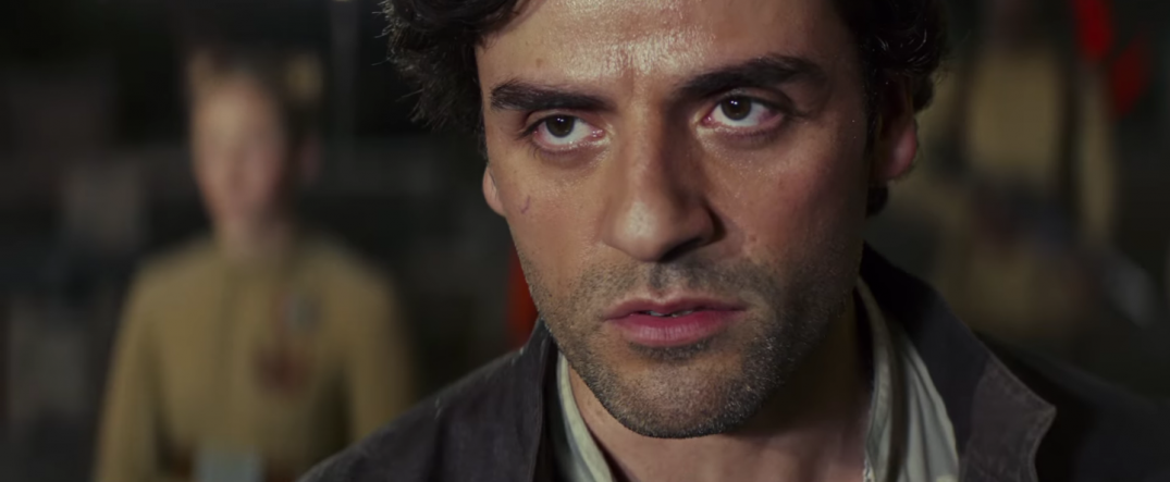 Star Wars The Last Jedi Movie Film Trailer Images Stills Pics Screencaps Screenshots Poe Dameron Oscar Isaac