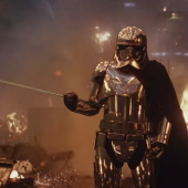 Star Wars The Last Jedi Movie Film Trailer Images Stills Pics Screencaps Screenshots Captain Phasma Gwendolyne Christie