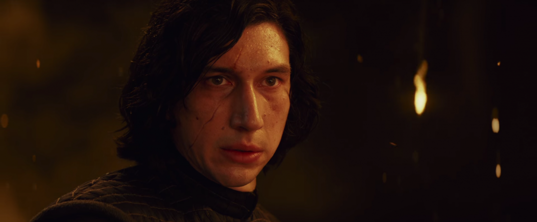 Star Wars The Last Jedi Movie Film Trailer Images Stills Pics Screencaps Screenshots Kylo Ren Adam Driver