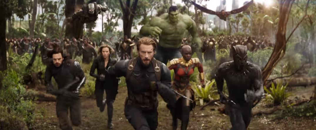 Avengers Infinity War Movie trailer images stills screencaps screenshots HD