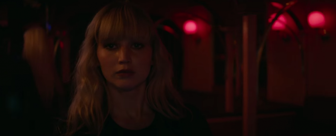 Jennifer Lawrence Red Sparrow Movie