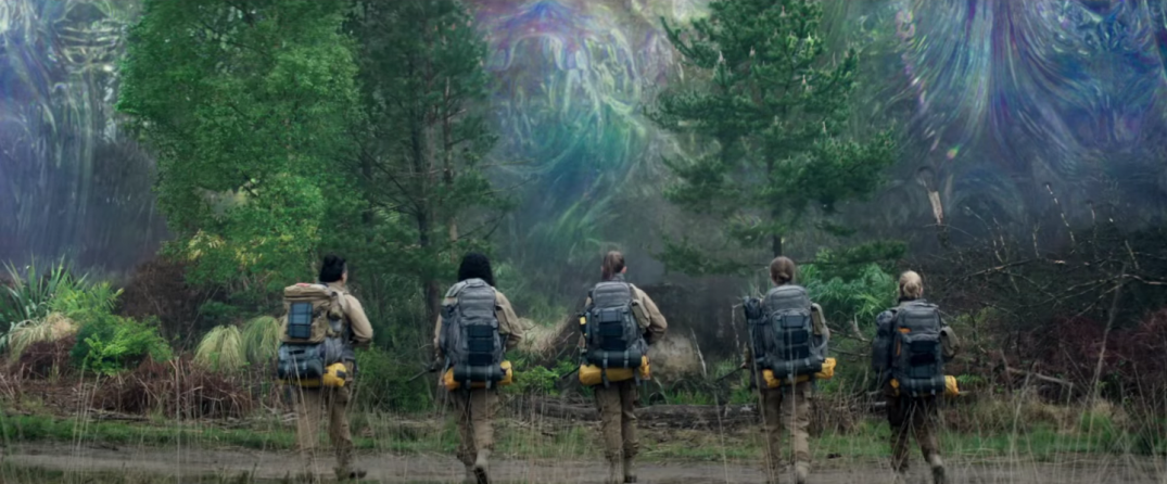 Annihilation Movie trailer screencaps alex garland natalie portman
