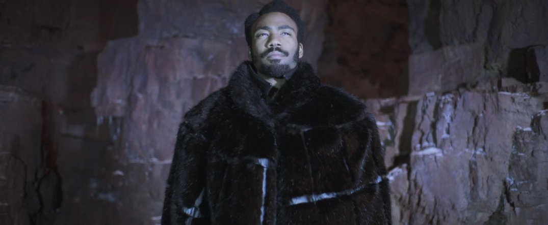 Solo Star Wars Story trailer screencaps screenshots donald glover