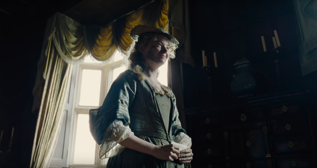 the favourite movie trailer images screencaps emma stone rachel weisz olivia colman